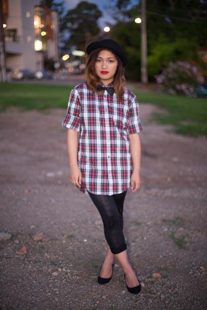 checkered-shirt
