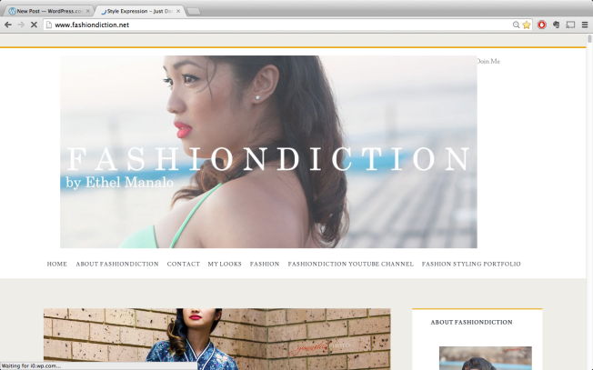 new website fashion blogger Ethel Manalo Fashiondcition www.fashiondiction.net